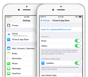 iCloud Automatic Download