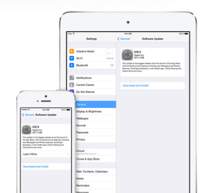 Make sure your device is running the latest version of iOS.