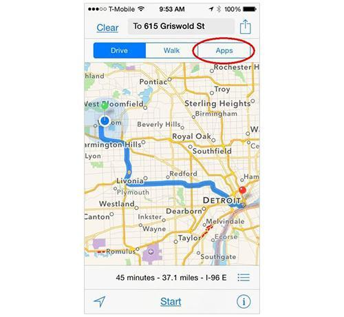 How to Force iOS 8 to Use Third-Party Maps